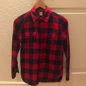 GAP Boys (10) Flannel